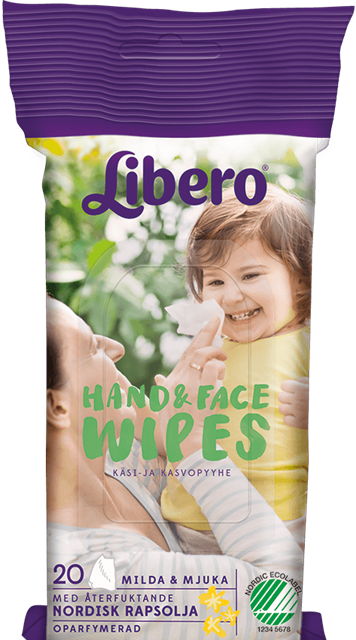 LIBERO HAND & FACE WIPES